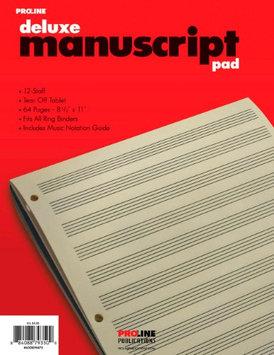 Pro Line Proline Proline Manuscript Paper Deluxe Pad