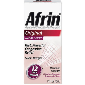 Afrin Nasal Spray, Original 15 mL