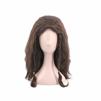 Man's Short Fluffy Cosplay Wig Haollween Wig for Movie