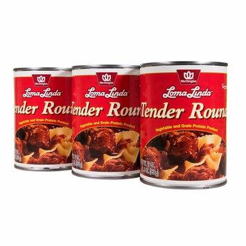 Loma Linda - Vegetarian - Tender Rounds with Gravy (19 oz.) (Pack of 3) - Kosher