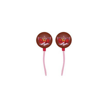 Digitat DCFH002 High Quality Stereo Graphically Enhanced Ear Buds with In-Ear Comfort Design, Flying Hearts