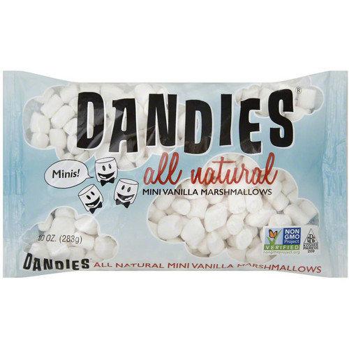 Dandies Mini Vegan Marshmallows, 10 oz, (Pack of 12)