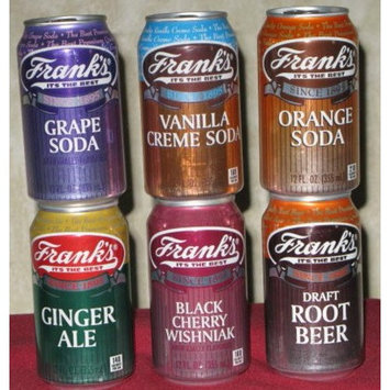 Frank's of Philadelphia Six Pack Soda Assortment