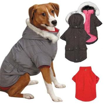 Pet Edge Dealer Services East Side Coll 3 in 1 Eskimo Dog Jacket XXS Gray