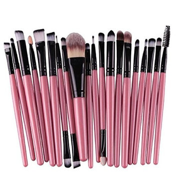 LUNIWEI Beauty Makeup 20 PCS/Set Brush Set(Choose Expedited Only Cost $2.99)