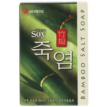 LG Household & Health Care, Bamboo Salt Soap, 100 g