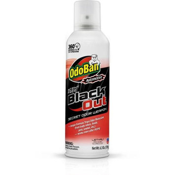 OdoBan Automotive 6.3 oz. Black Out Unscented Odor Weapon 360-Degree Spray