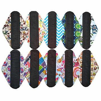 Bamboo Mama Cloth/ Menstrual Pads/ Reusable Sanitary Pads Panty liner (MC14-3PCS)