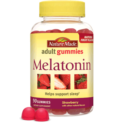 Nature Made Melatonin Strawberry Adult Gummies