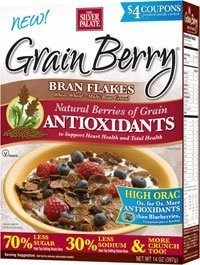 The Silver Palate Grain Berry Antioxidants Cereal Bran Flakes 12 oz