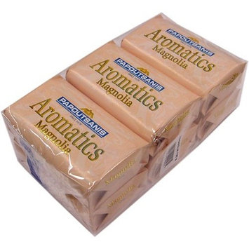 Papoutsanis Aromatics Greek Soap Magnolia 6 PACK of 4 Oz Bars