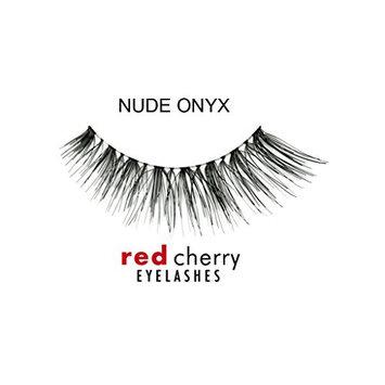 Red Cherry False Eyelashes Nude Onyx (Pack of 3)