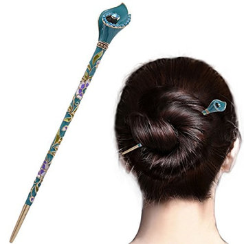 Chinese Traditional Elegant Hairpins Hair Pin Stick Fashion Long Hair Accessory Decorative for Women Girls