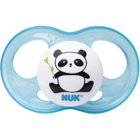 NUK Breeze Orthodontic 0-6 Month 2 Pack Pacifiers - Girl