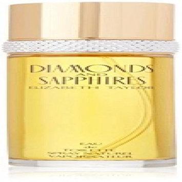 Diamonds & Sapphires by Elizabeth Taylor, 2 piece gift set for women.