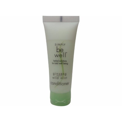 Simply be Well Ginseng Wild Mint Conditioner lot of 4 bottles. Total of 3.2oz (Pack of 4)