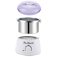 Medog 500cc Wax Warmer with Pot Electric Hair Removal Hot Waxing Electric Kit 500cc Melting Wax Pot Depilatory Machine DO Prevent Liquid Drop COM in to Warmer