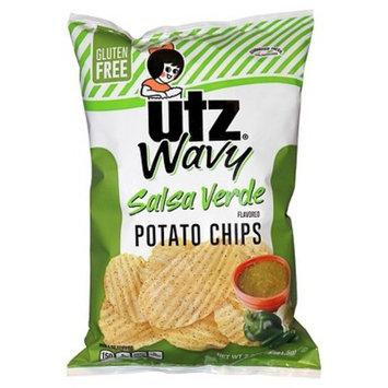 Utz® Salsa Verde Wavy Potato Chips 2.87 oz