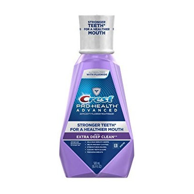 Crest Pro-Health Advanced Extra Deep Clean Mouthwash Clean Mint 16.9 oz.