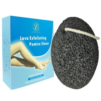 Pumice Stone for Feet,LuolLove Natural Earth Lava Foot Pumice Stone Foot Scrubber, Premium Natural Callus Remover Foot File Pedicure Tool for Feet and Hands, Dead Skin Exfoliation and Removal