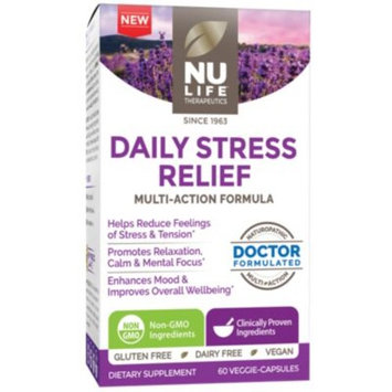 Daily Stress Relief (60 Veggie Caps) by Nu Life at the Vitamin Shoppe