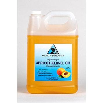 Apricot Kernel Oil Unrefined Organic Virgin Cold Pressed Raw Pure 128 oz, 7 LB, 1 gal