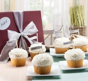 Dulcet Gift Baskets A Wedding Wish Dulcet Vanilla Cupcake Coconut Flake Gift Box