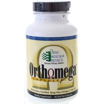 Ortho Molecular Products Orthomega Fish Oil 950mg 60 Capsules