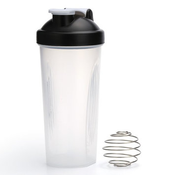 600ML Portable Protein Blender Shaker Mixer Cup Drink Whisk Ball Bottle