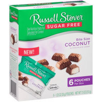 Russell Stover Sugar Free Bit Size Coconut in Chocolate Candy (Pack of 4)