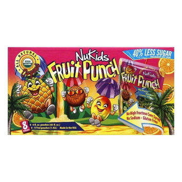 DISCOED NuKids Fruit Punch Organic Premium Juice Drink, 8 ea (Pack of 4)