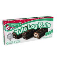 Drake's Christmas Yule Log Rolls, 6 ct, 12.46 oz