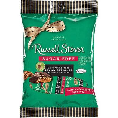 Russell Stover Sugar Free Dark Chocolate Pecan Delights, 3 oz