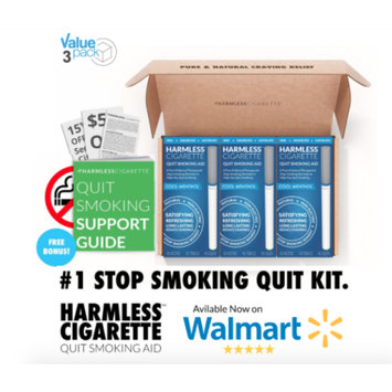 Harmless Products Co. Quit Smoking Aid / Stop Smoking Remedy to Help Reduce Cravings / Satisfying & Effective / Harmless Cigarette