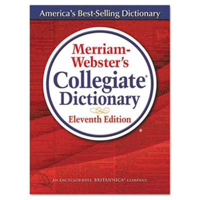 Merriam-Webster MER8095 11th Edition Collegiate Dictionary Printed And Electronic Book