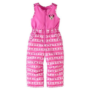Minnie Mouse Toddler Girls' Ski Bib Snowpants