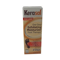2 Pack Kerasal One Step Exfoliating Moisturizer Therapy Foot Ointment 1 Oz Each