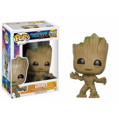 Pop! Movies: Guardians Of The Galaxy 2-Groot Novelty