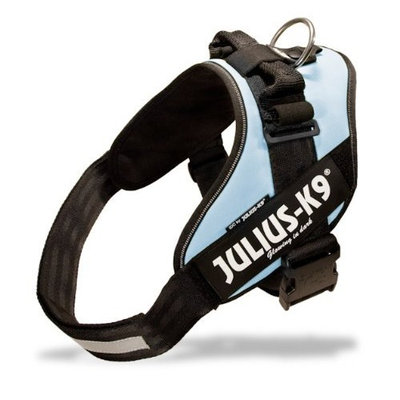 Julius-K9 IDC-Powerharness With Reflective Julius-K9 Labels Dog Harness - Custom labels available - soft yet very strong, renowned for the comfort and fit - easy on - no pull harness - 15 colors in 8 fully adjustable sizes for the perfect fit - widely used in Europe by K9 atheletes, service dogs, working dogs and security dogs