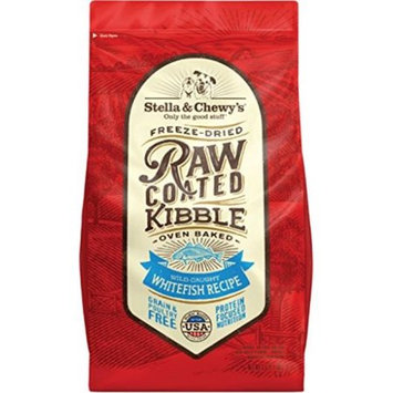Stella & Chewy's Raw Coated Kibble Grain-Free Wild-Caught Whitefish Recipe Dog Food, 3.5 Lb