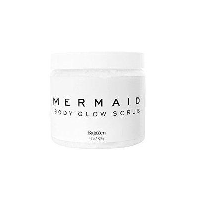 Baja Zen Mermaid Glow Body Buff Scrub - Sea Infused Body Scrub Made to Transform Your Skin Into a Natural Wonder