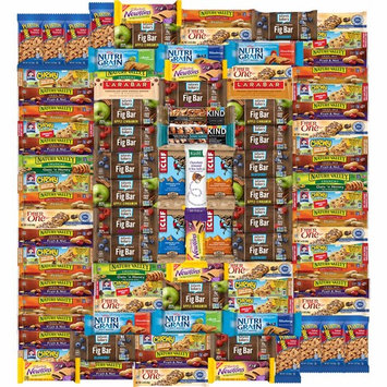 Ultimate Healthy Bar & Snacks Gift Variety Pack by Variety Fun