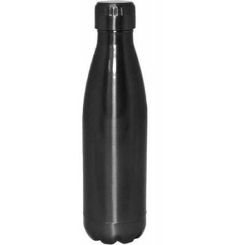 Gourmet Home Products 17 oz Double Wall Vacuum Insulated Stainless Steel Sports Bottle, Glossy Lacquered