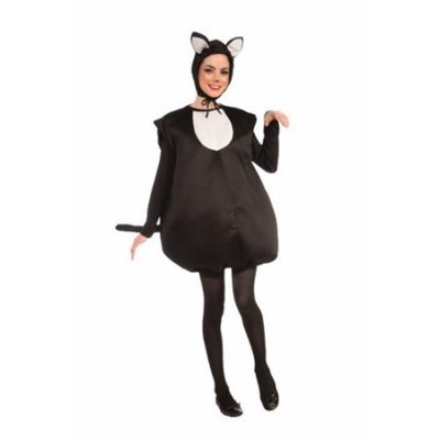 Womens Cute Black Cat Costume Size Standard 6-14