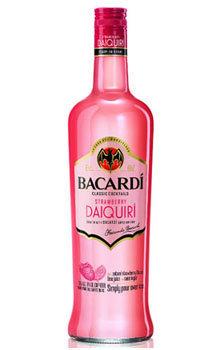 Bacardi Classic Cocktails Strawberry Daiquiri
