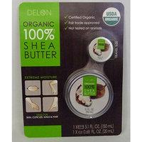 Delon Organic 100& Shea Butter 5.1fl. oz. with Travel Size 0.68fl. oz.