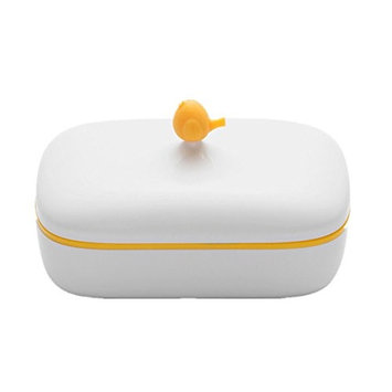 Faber3 Soap Holder Soap Dispenser Dish Case Holder Container Box For Bathroom Travel Carry Case (C)