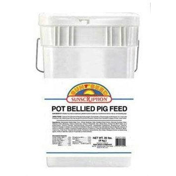 Sun Seed Company SSS13020 Sunscription Pot Bellied Pig Food, 20-Pound