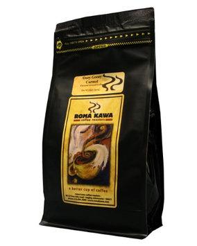 Roma Kawa Ooey Gooey Carmel Flavored Whole Bean Coffee 12oz