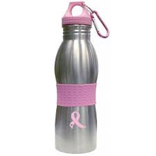 Stc Breast Cancer Awareness Flip Top Water Bottle